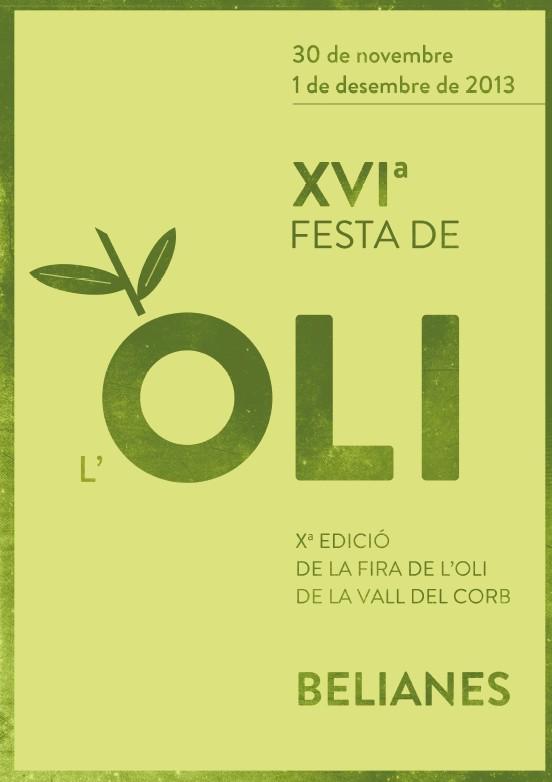 XVI Festa de l'oli de Belianes i X Fira de l'oli de la Vall del Corb 2013