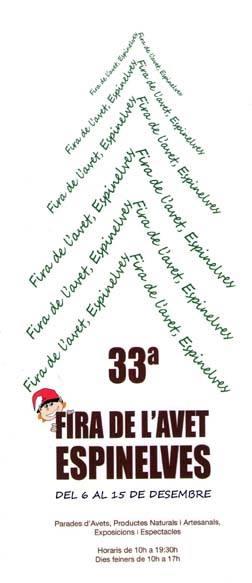 Fira de l'Avet Espinelves 2013