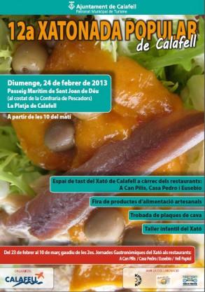 cartell-xatonada-calafell-2013