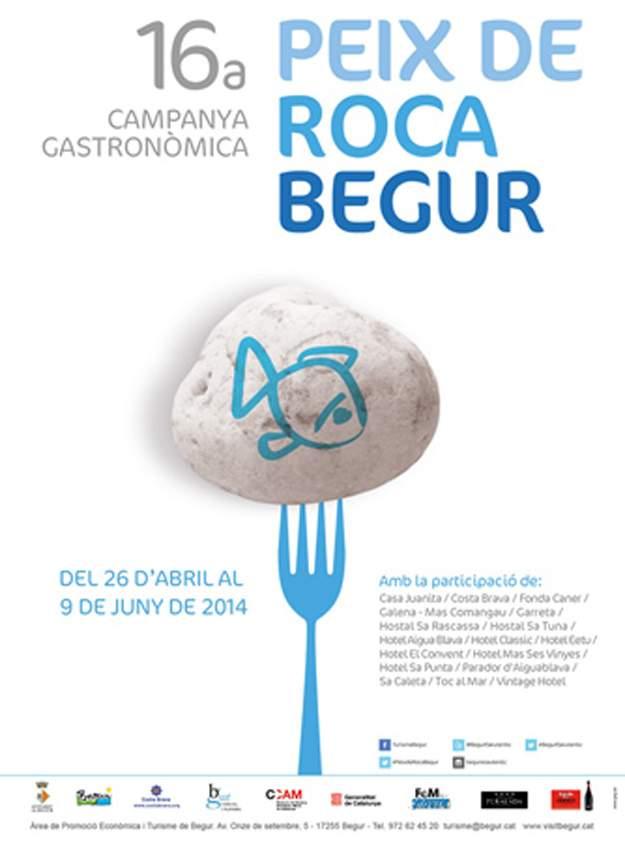 XVIa Campanya Gastronòmica del Peix de Roca - Begur 2014