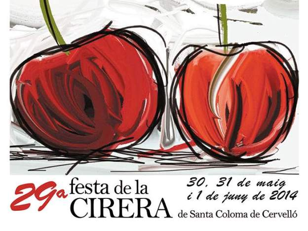 29a Festa de la Cirera Santa Coloma de Cervello 2014