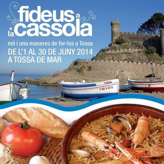 Jornades Gastronòmiques Fideus a la Cassola Tossa de Mar 2014