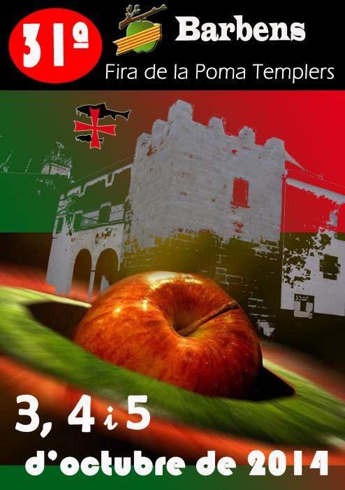 31a Fira de la Poma i Templers Barbens 2014