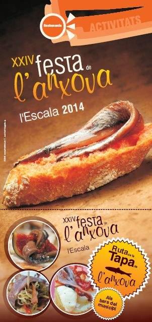 XXIVa Festa de l'Anxova l'Escala 2014