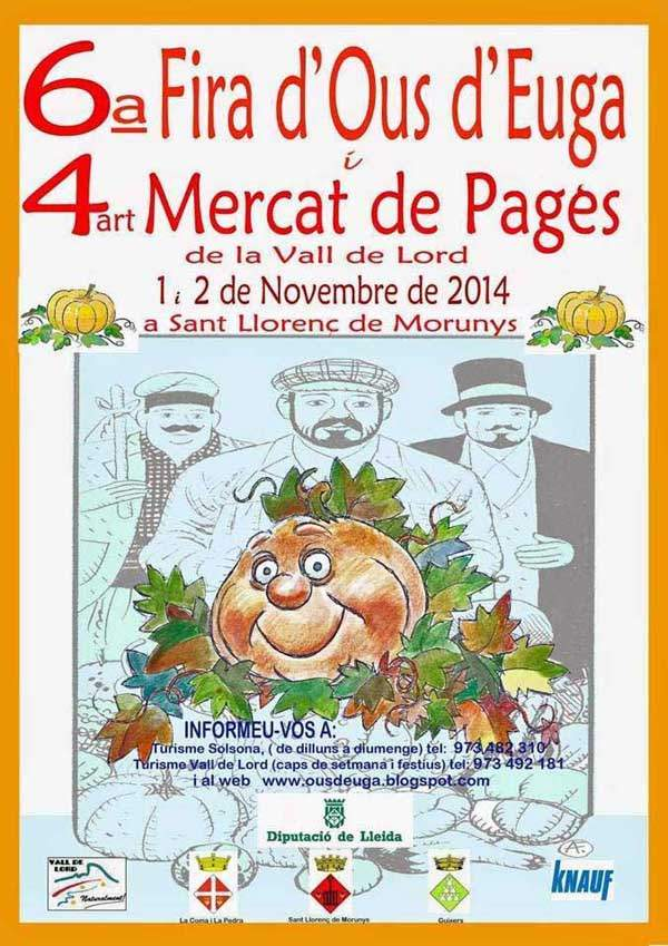 6a Fira d'Ous d'Euga i el 4rt Mercat del Pagès de la Vall de Lord – Sant Llorenç de Morunys