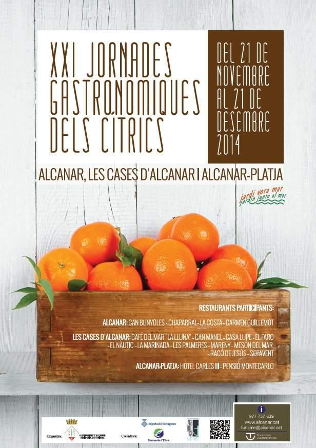 XXI Jornades Gastronòmiques Alcanar 2014