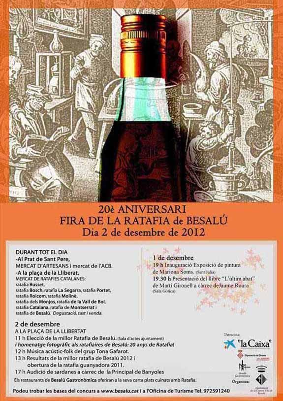 20è Aniversari de la Fira de la Ratafia - Besalú 2012