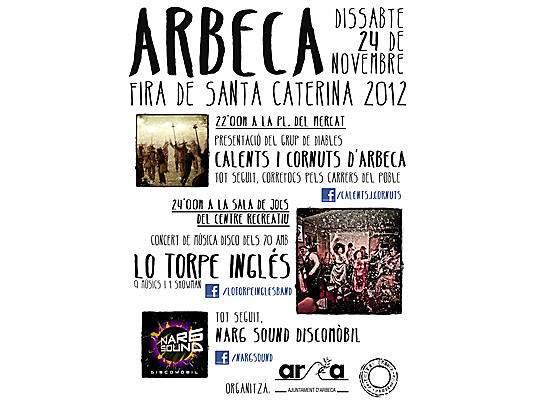 XXIXa Fira de Santa Caterina – Arbeca 2012