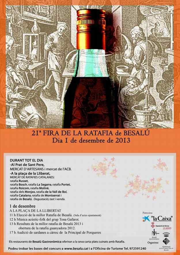 21a Fira de la Ratafia Besalu 2013