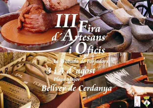 IIIa Fira d'Artesans i Oficis - Bellver de Cerdanya