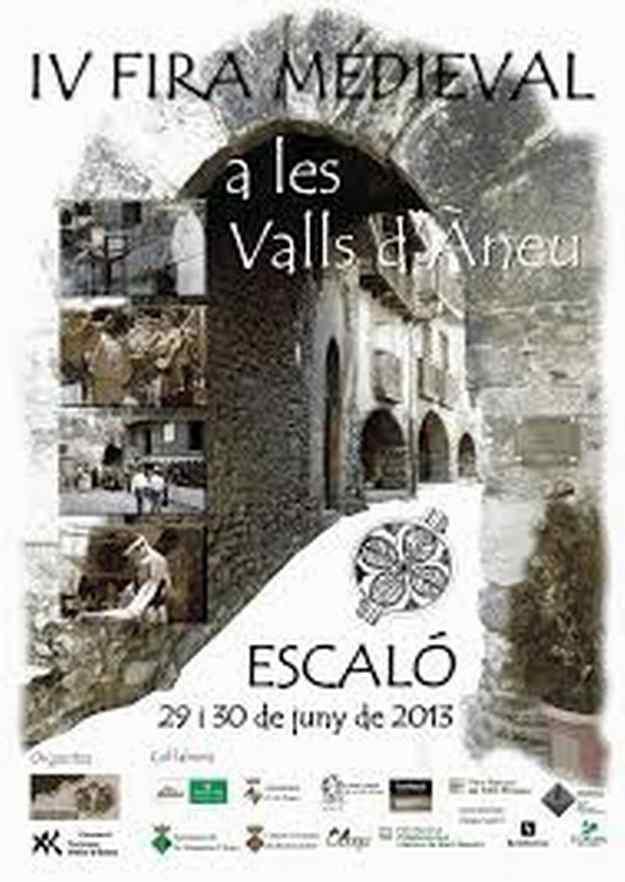 IVa Fira Medieval a les Valls d'Àneu - La Guingueta d'Àneu 2013