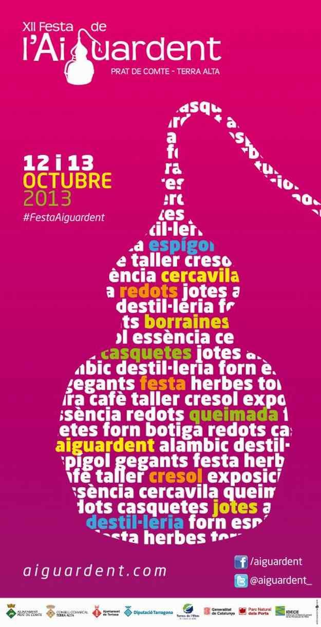 XIIa Festa de l'Aiguardent Prat de Comte 2013
