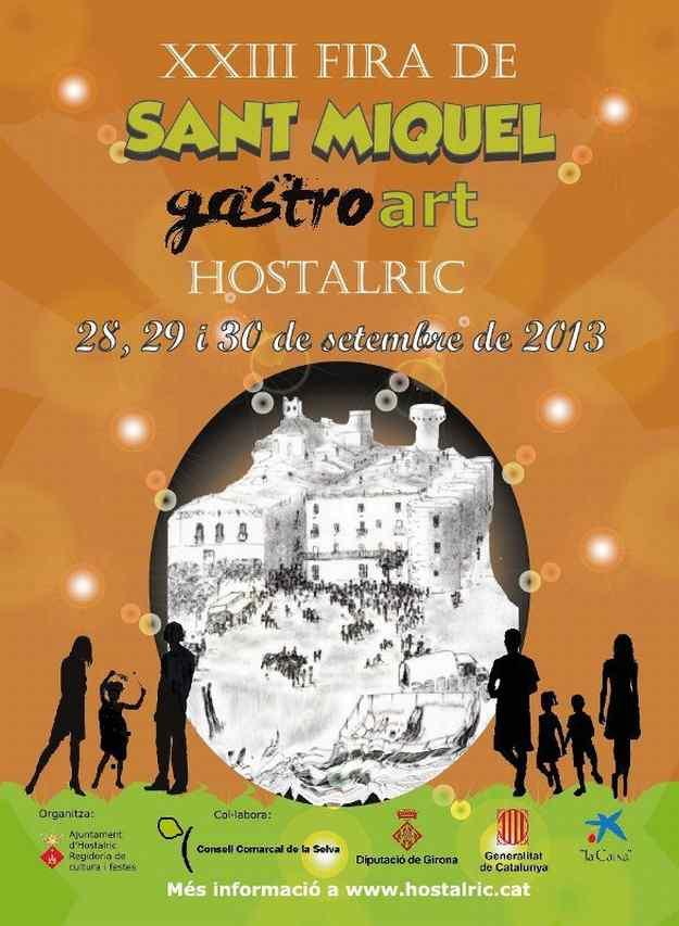 XXIIIa Fira de Sant Miquel i Va edició de Gastroart - Hostalric 2013