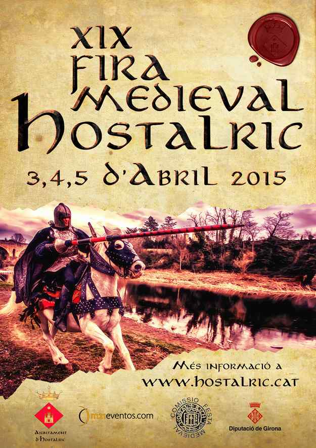 XIXa Fira Medieval – Hostalric 2015