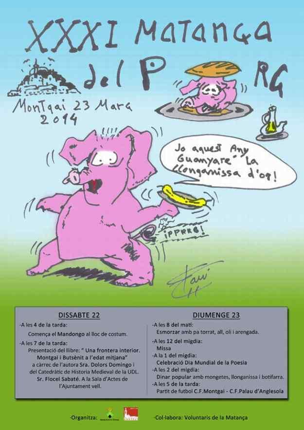 XXXIa Matança del Porc Montgai 2014