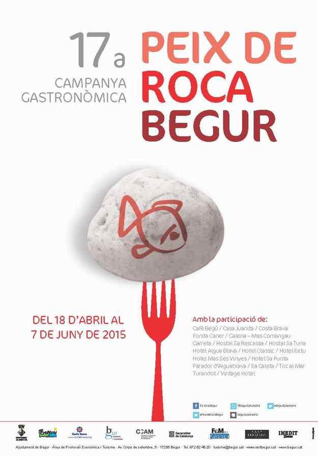 17a Campanya Gastronòmica del Peix de Roca Begur 2015