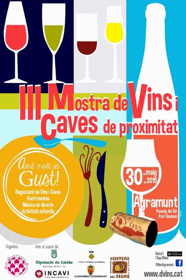 DVins, III Mostra de Vins i Caves de Proximitat - Agramunt 2015