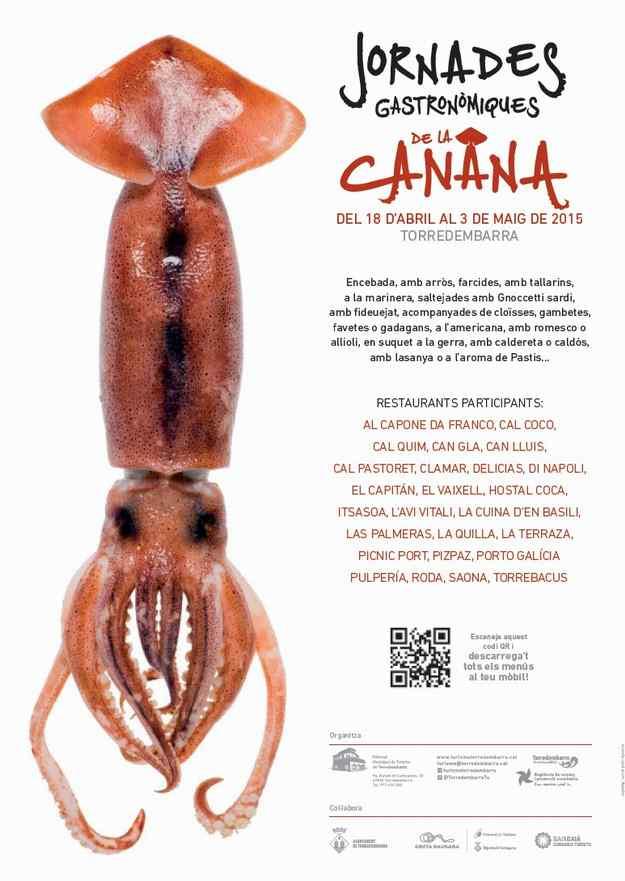 Jornades Gastronòmiques de la Canana Torredembarra 2015