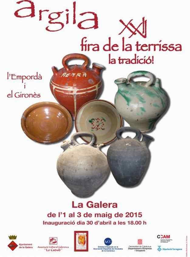 XXIIa Fira de Terrissa i Ceràmica La Galera 2015