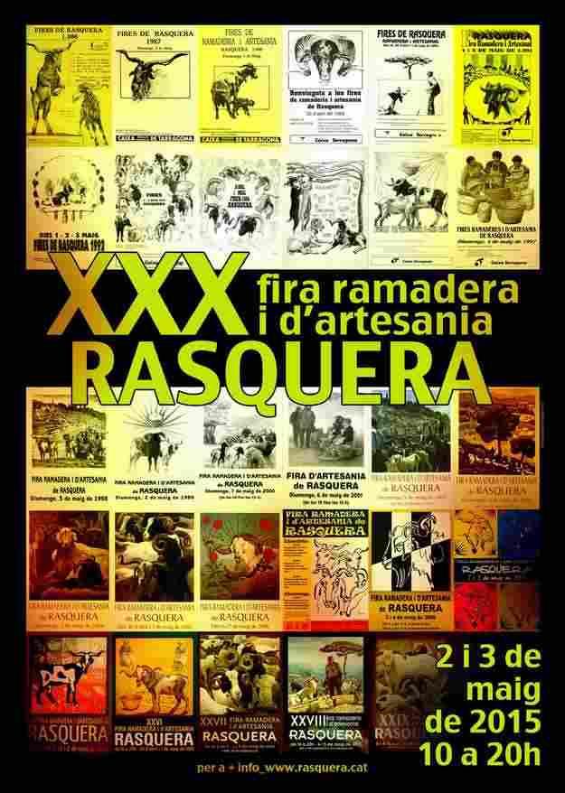 XXXa Fira Ramadera i d'Artesania – Rasquera 2015
