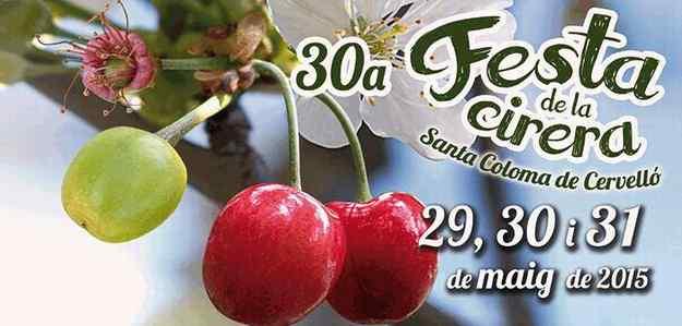 30a Festa de la Cirera – Santa Coloma de Cervelló 2015