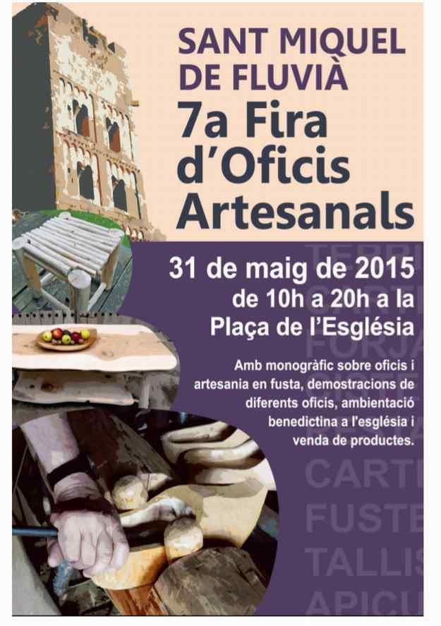 7a Fira d'Oficis Artesanals – Sant Miquel de Fluvià 2015