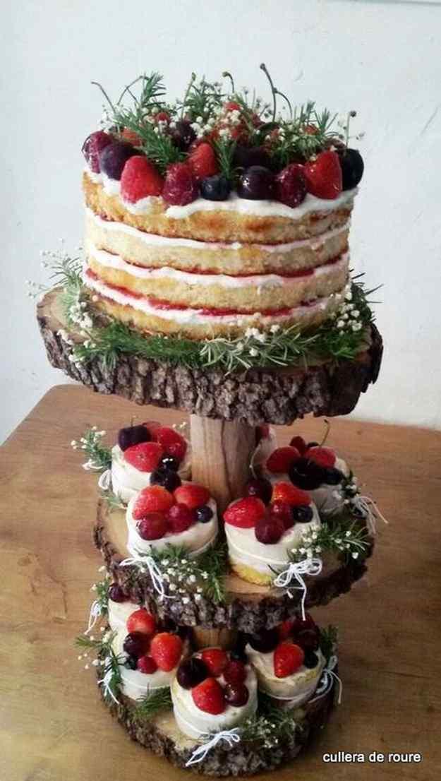 El pastís de boda de la Montse
