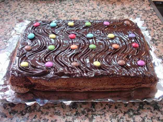 Pastís de xocolata o pastís Montsino