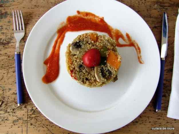Quinoa amb verdures 03