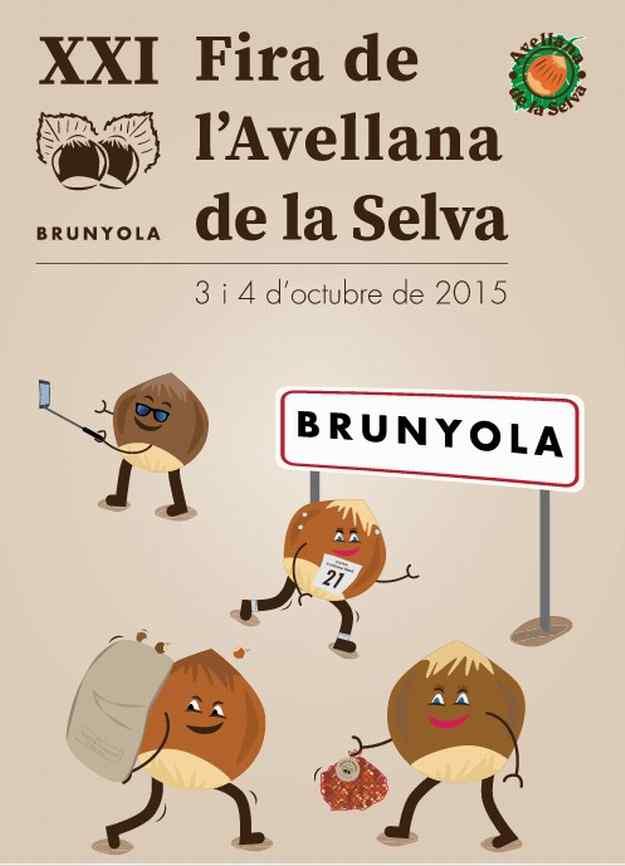 XXI Fira de l'Avellana de la Selva – Brunyola 2015