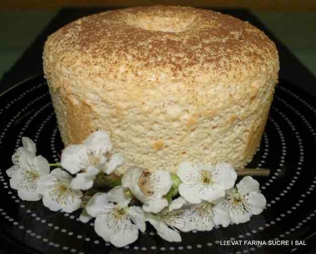 ANGEL FOOD CAKE DE TARONJA
