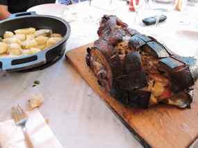 Espatlla de porc al forn amb patates fondant 02