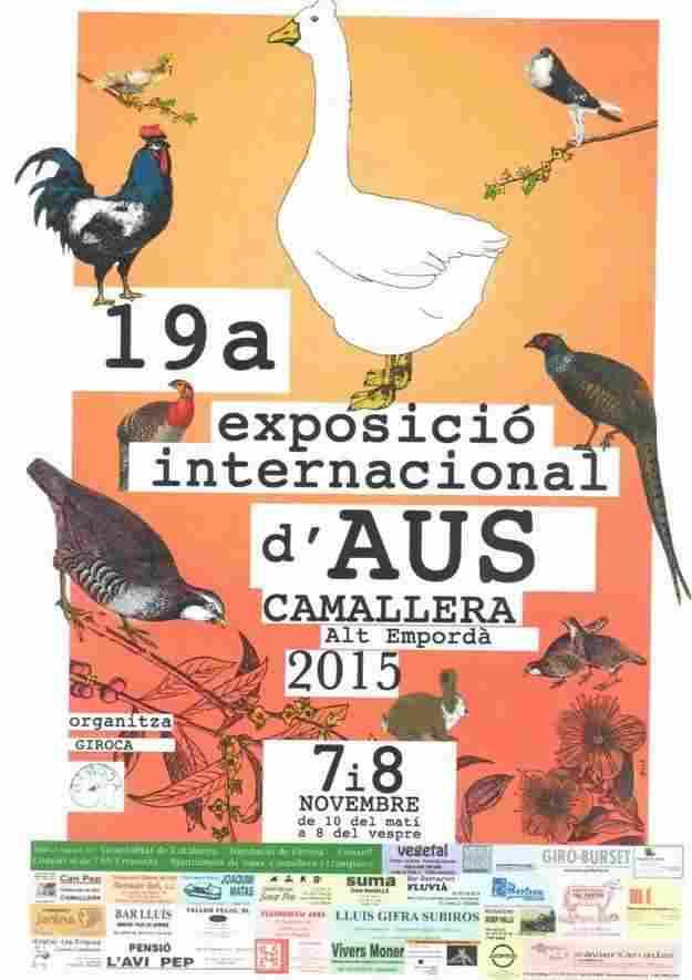 19a Exposició Internacional d'Aus de Camallera