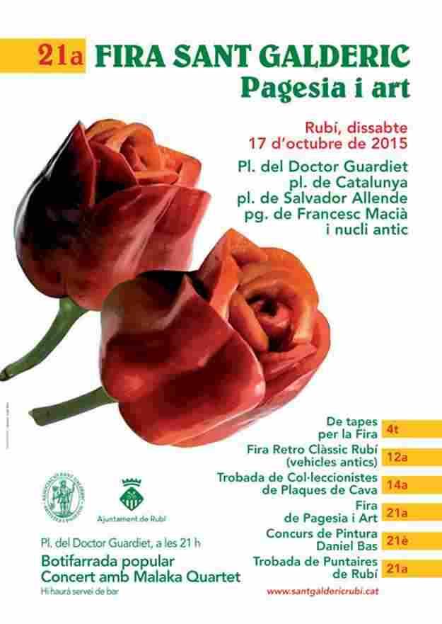 21a Fira de Sant Galderic Rubi 2015