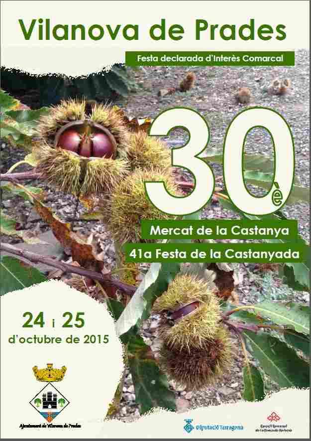 30a Fira i Mercat de la Castanya Vilanova de Prades 2015