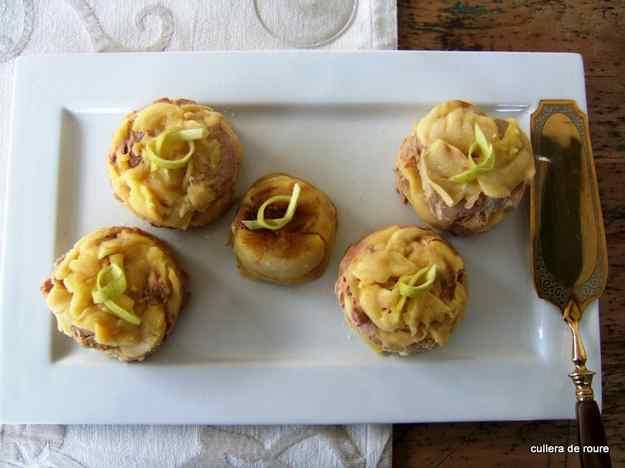 Foie amb poma caramelitzada