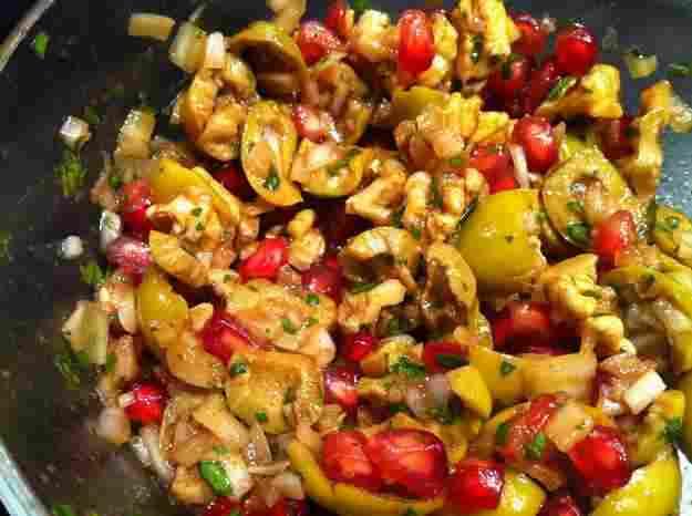 Zeytin piyazi (olives, anous, magrana) 61/135