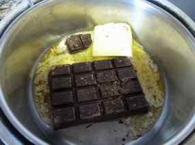 Pastís de Brownie i Flam 05