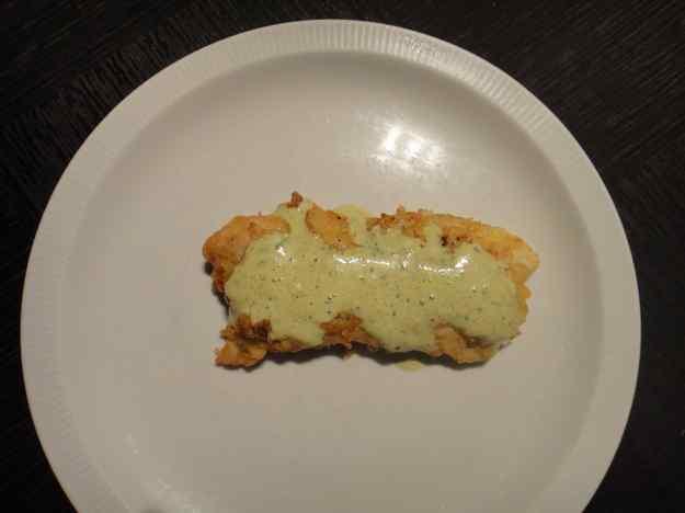 Lluç arrabossat amb maionesa verda (48/164)