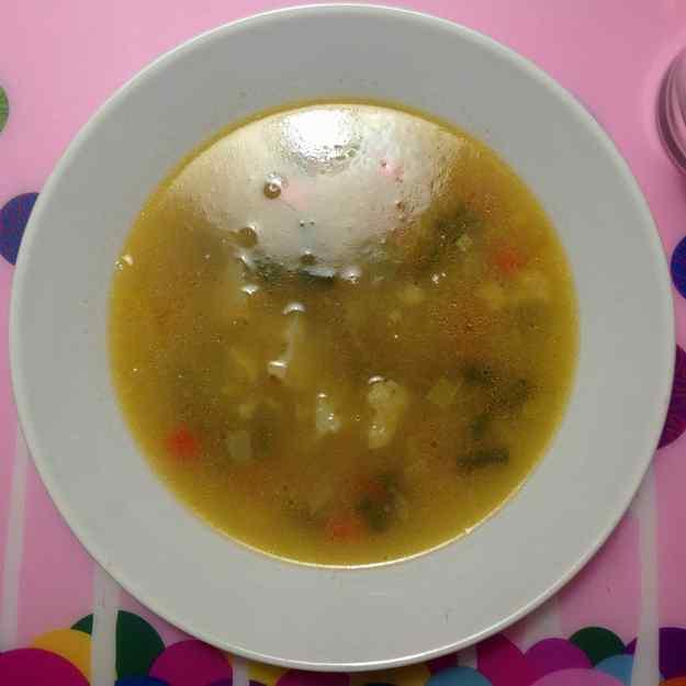 Sopa de verdures