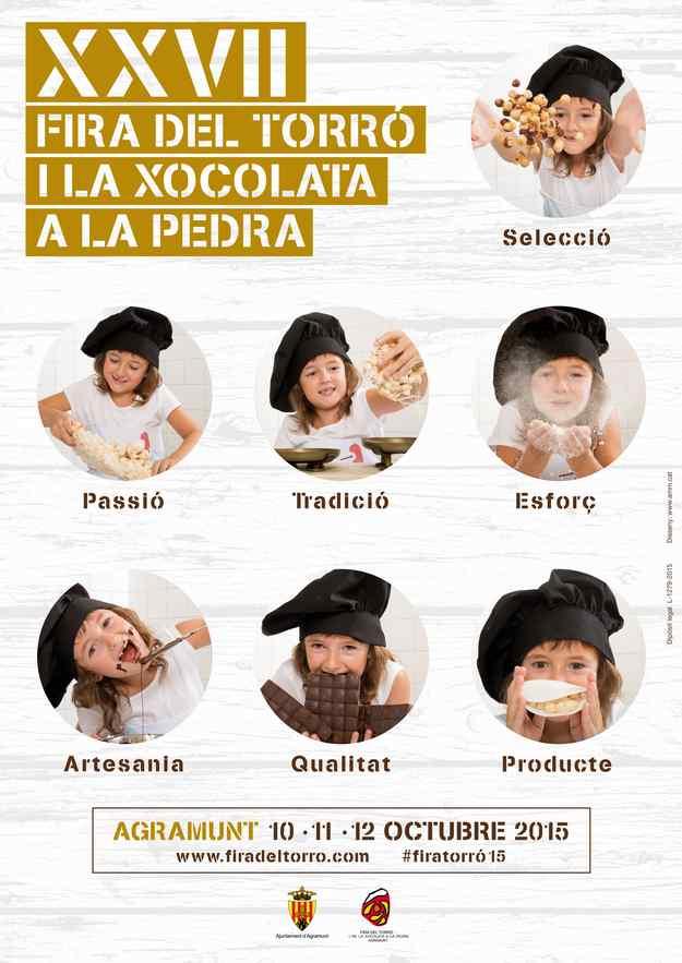 XXVIIa Fira del Torró i la Xocolata a la Pedra Agramunt 2015