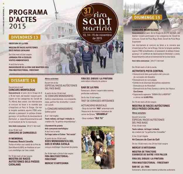 37a Fira de Sant Martirià Banyoles 2015