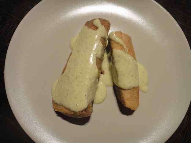 Bonítol arrabossat amb maionesa verda (130/164)
