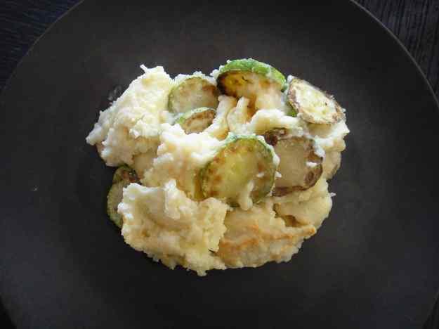 Carbassons amb puré de patates (38/164)