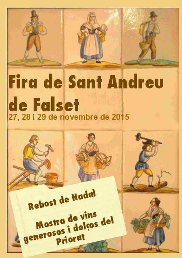 Fira de Sant Andreu – Falset 2015