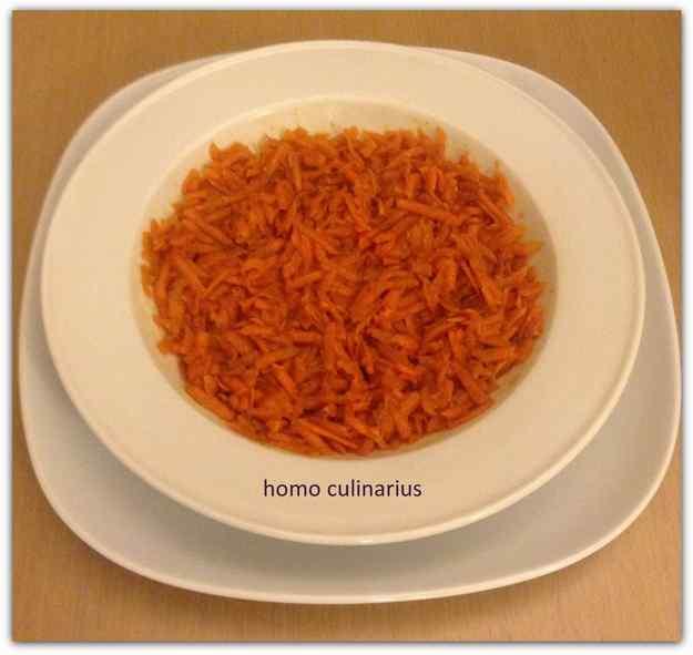 Pastanaga marinada amb vinagre de Mòdena