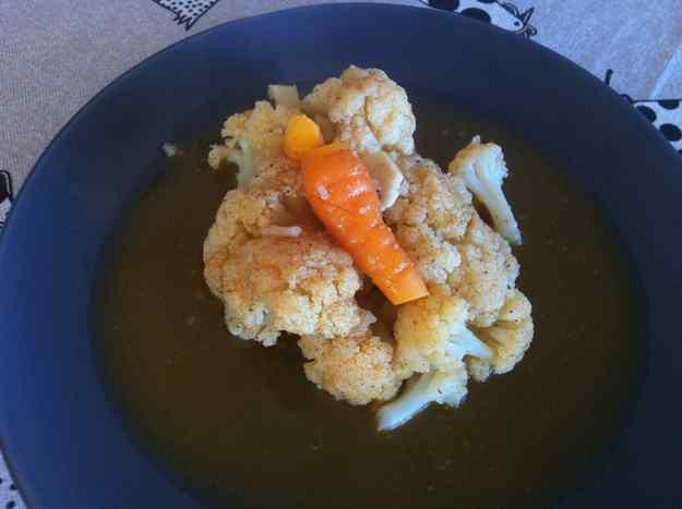 Col-i-flor al forn amb pastanaga i cítrics (32/36)