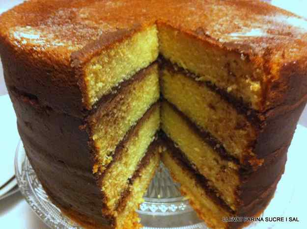 NAKED CAKE DE TARONJA FARCIT DE TRUFA