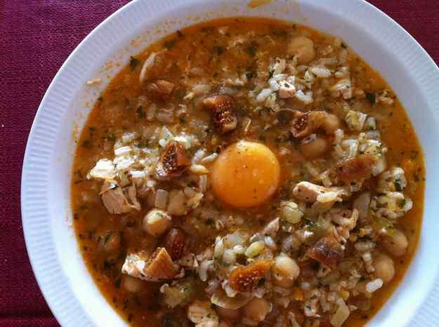 Harira amb arròs i figues seques (46/135)