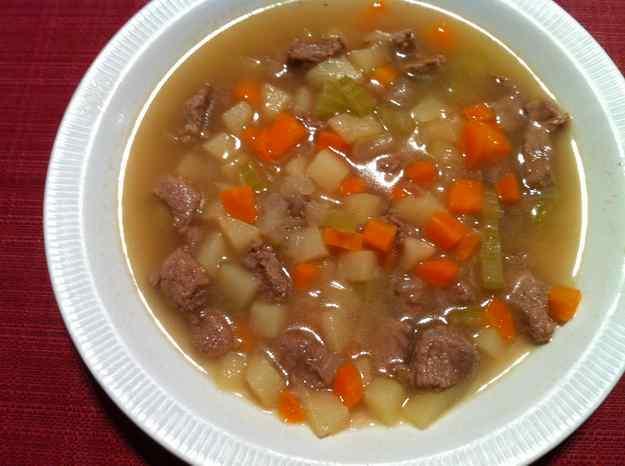 Ftir el euch (sopa de verdures amb xai) 47/135